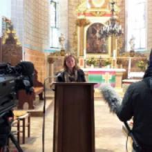 2020 Der 25.Oktober Feierliche Urkundenübergabe im Gottesdienst Lektorendienst von Theologiestud. Christiane Zscherpel