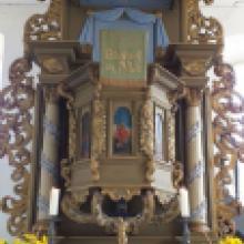 2019 August Unsere Kirchengemeinde NEUHOF mit ihrem wunderschönen Altar