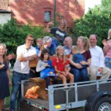 2019 August Sommerfest der Kirchengemeinde MEHR GEHT NICHT an Spaß, guter Laune, Quiz. Pech für alle, die nicht kamen. Wir haben uns wie Bolle amüsiert