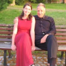 2019 03.Juli Dirigent Prof. Dr. Peter Gülke, 85, mit einer Wahnsinnsmusik und -kondition und der hervorragenden Solistin Frau Wieser